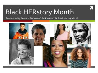 Black  HERstory  Month