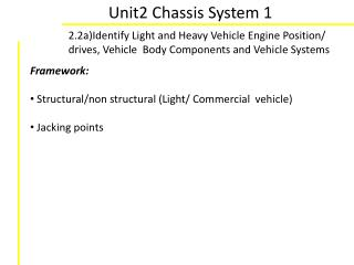 Unit2 Chassis System 1