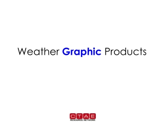weather graphical products