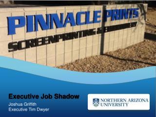 Joshua Griffith Executive Tim Dwyer