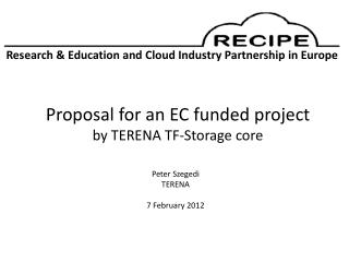 Research & Education and Cloud Industry Partnership in Europe