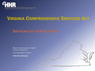 Services  for at  Risk Youth