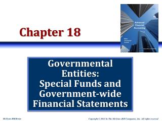 Governmental Entities: Special Funds and Government-wide Financial Statements