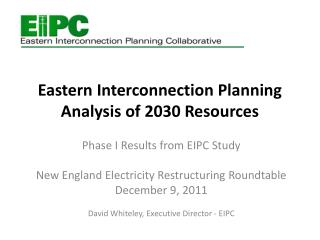 Eastern Interconnection Planning Analysis of 2030 Resources