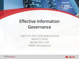 Effective Information Governance