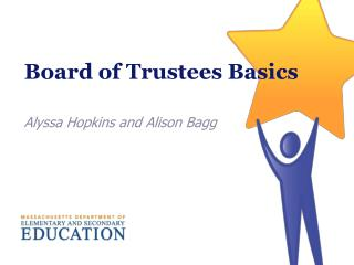 Board of Trustees Basics