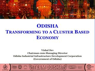 O DISHA Transforming to a Cluster Based Economy