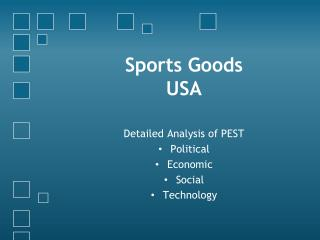 Sports Goods USA
