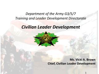civilian leader development g-37