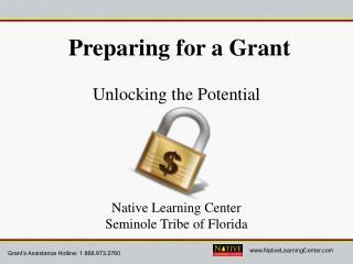 Preparing for a Grant