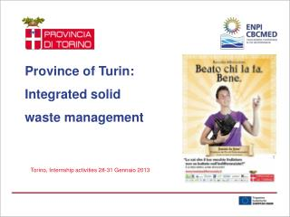 Province of Turin: Integrated solid  waste management