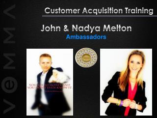 John & Nadya  Melton Ambassadors