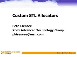 custom stl allocators