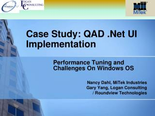 Case Study: QAD .Net UI Implementation