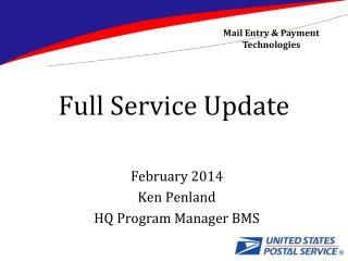 Full Service Update