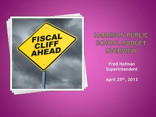 Harrison Public School Budget overview