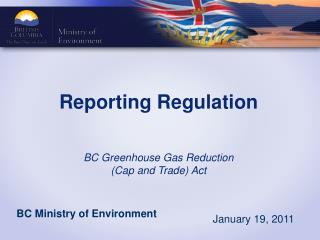 Reporting Regulation