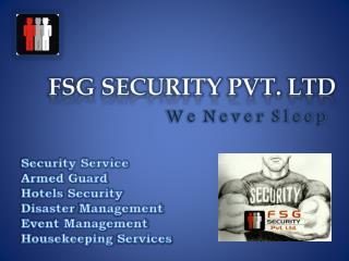 FSG Security Pvt. LTd