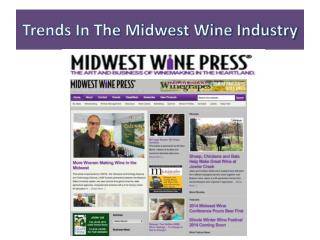 Trends In The Midwest Wine Industry