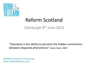 Reform Scotland