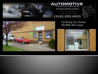 363 Bering  Ave. Toronto ON M8Z 3B1 Canada