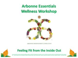 Arbonne Essentials Wellness Workshop