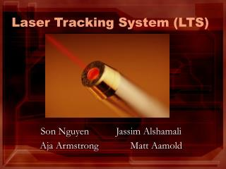 laser tracking system lts