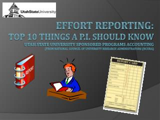 Time and Effort: Top 10 Things a P.I. Should Know