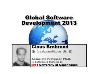 Global Software Development 2013