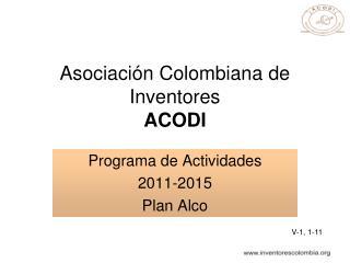 asociaci n colombiana de inventores acodi