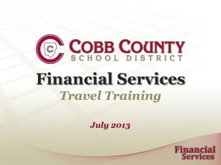 Financial Services Travel Training