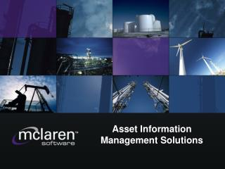 Asset Information Management Solutions
