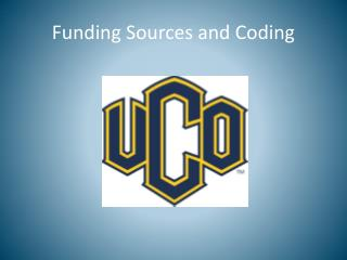 Funding Sources and Coding
