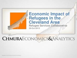Economic  Impact  of Refugees in the Cleveland Area