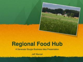 Regional Food Hub