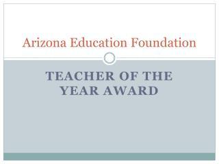 Arizona Education Foundation