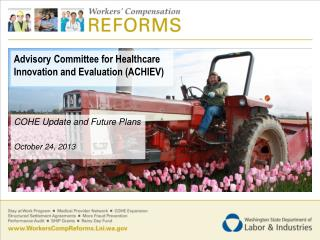 Advisory Committee for Healthcare Innovation and Evaluation (ACHIEV)