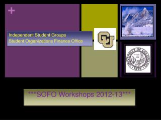 ***SOFO Workshops 2012-13***