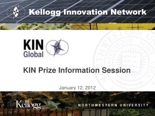KIN Prize Information Session
