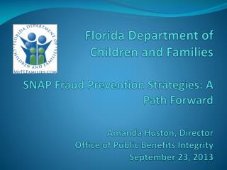 Fraud  Trends  & Risks