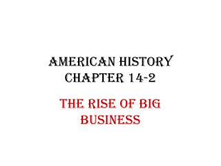 American History Chapter 14-2