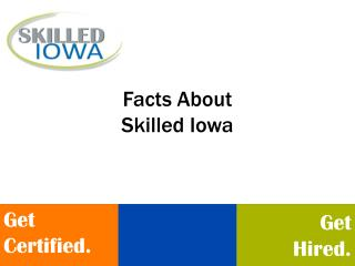Facts About Skilled Iowa