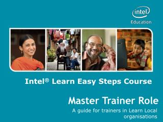 Master Trainer Role