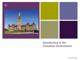 Introduction to the Canadian Government