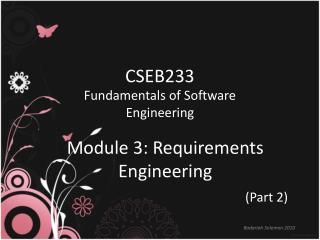 CSEB233