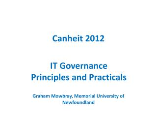 Canheit 2012