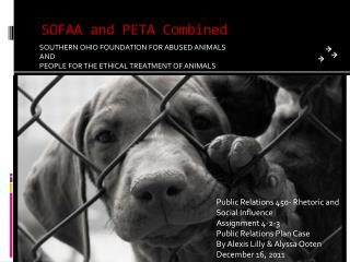 SOFAA and PETA Combined