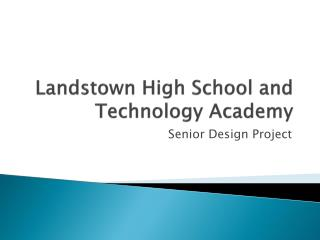 Landstown High School and Technology Academy