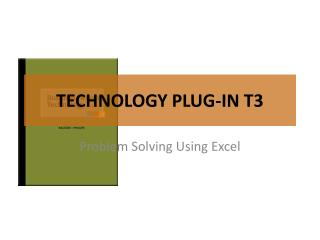 TECHNOLOGY PLUG-IN T3