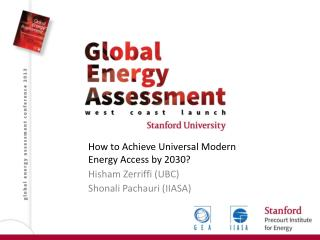 How to Achieve Universal Modern Energy Access by 2030?
